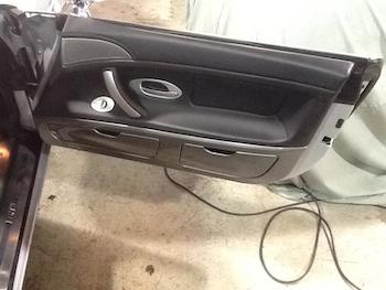 BMW Z8 Before Door Panel