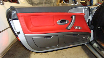 BMW Z8 Door Panel After