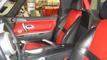BMW Z8 Seat After