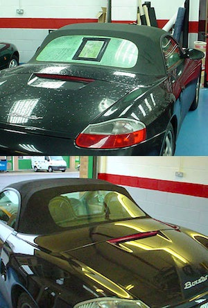 Boxster Convertible Before,After