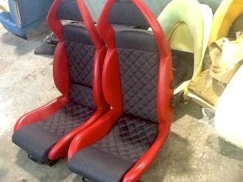 Lamborghini Seat After