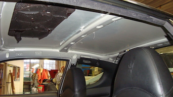 headliner repair pacific auto trim and glass. Black Bedroom Furniture Sets. Home Design Ideas