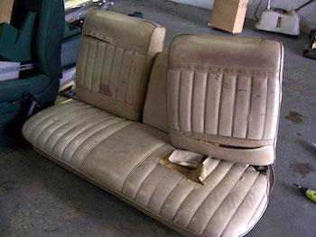 Seat Repair-Before